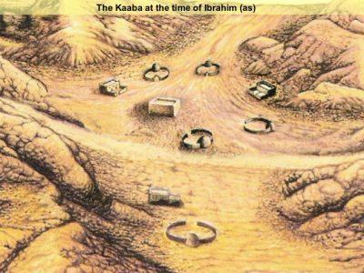 Siti Hajar dan anaknya Nabi Ismail dibawa oleh Nabi Ibrahim menghuni lembah Mekah. Kemudian diikuti oleh kabilah lain dari Yaman